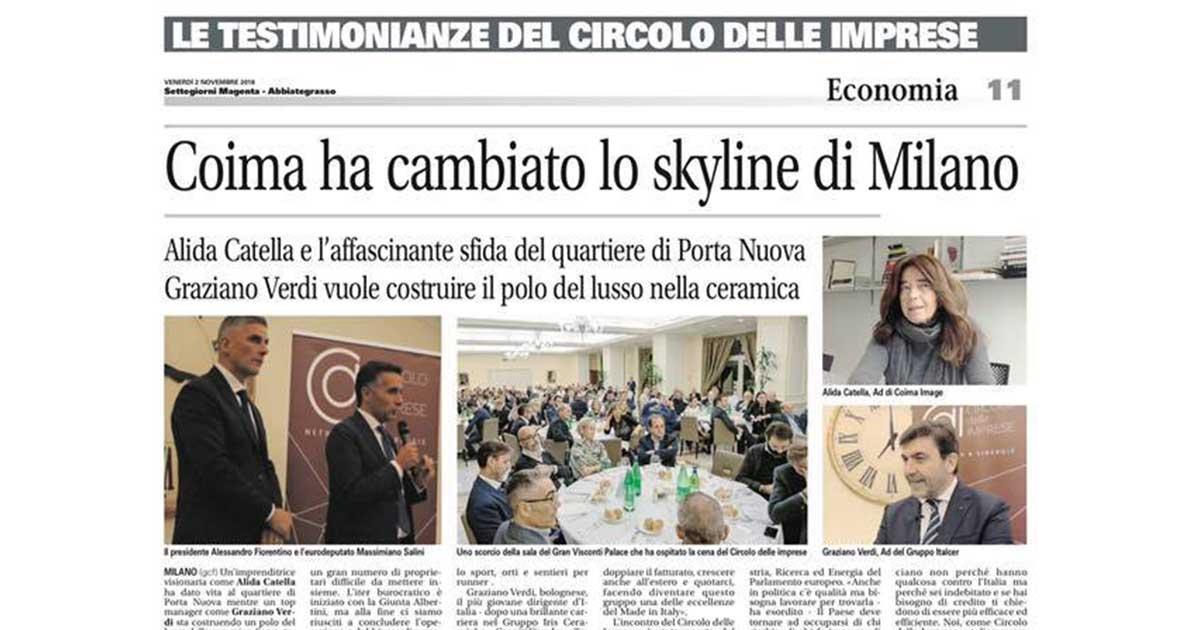 Coima ha cambiato lo skyline di Milano