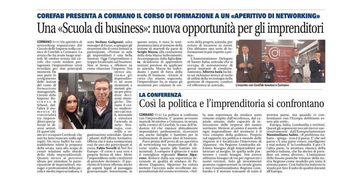 """Una """"Scuola di business"""": nuova opportunità per gli imprenditori"""