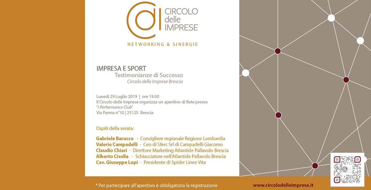 IMPRESA E SPORT: Testimonianze di successo, Circolo delle Imprese Brescia