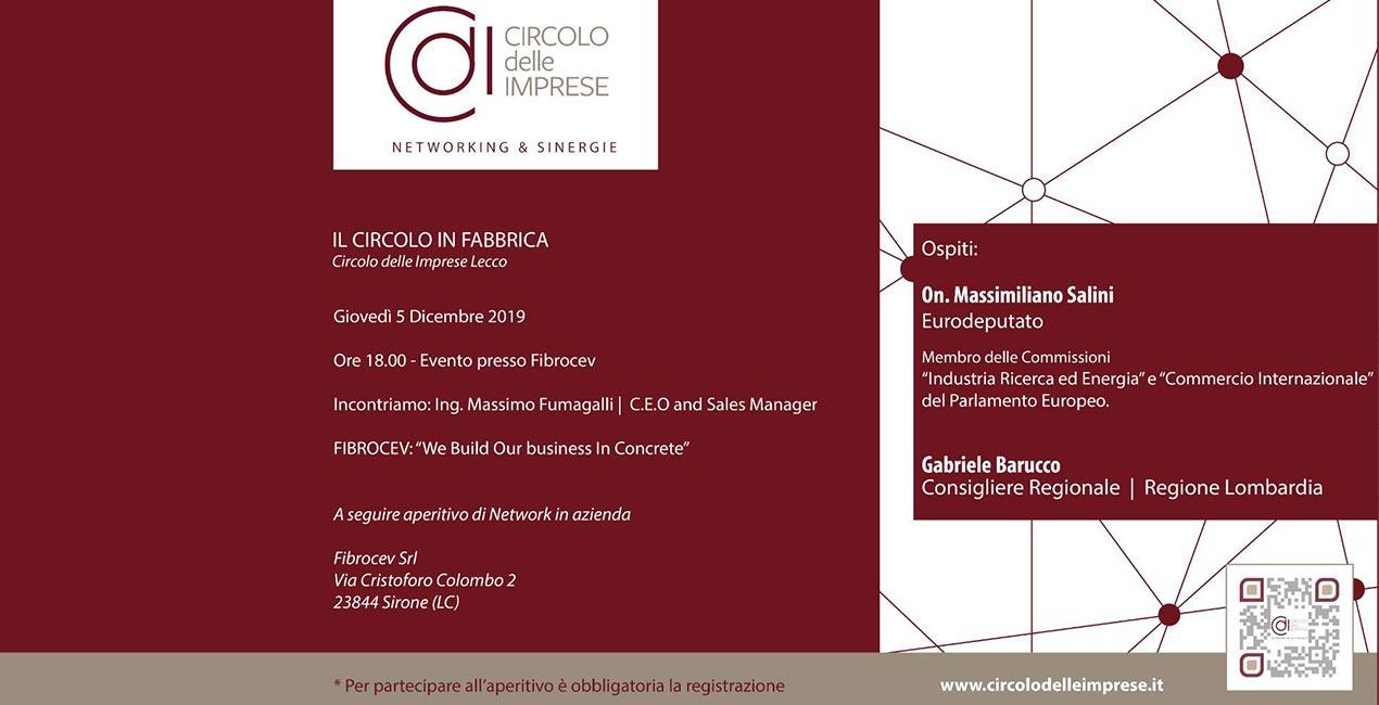IL CIRCOLO IN FABBRICA: alla scoperta della manifattura italiana, Circolo delle Imprese Lecco