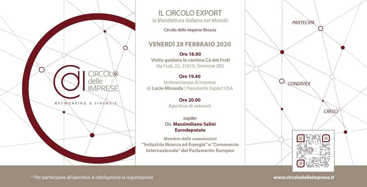 IL CIRCOLO EXPORT: La manifattura italiana nel mondo