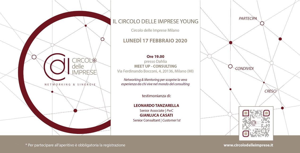 IL CIRCOLO YOUNG: alla scoperta dei Talenti Italiani