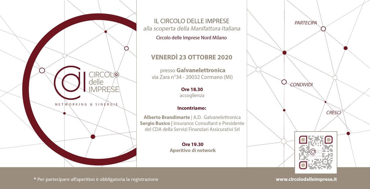 IL CIRCOLO IN FABBRICA: alla scoperta della manifattura italiana, Circolo delle Imprese Nord Milano
