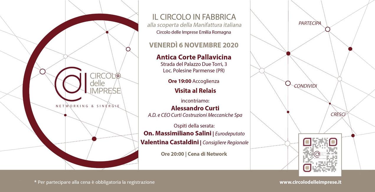 IL CIRCOLO DELLE IMPRESE: alla scoperta della manifattura italiana, Circolo delle Imprese Emilia Romagna