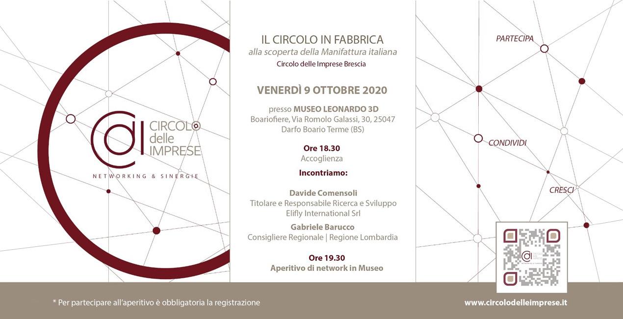 IL CIRCOLO DELLE IMPRESE: alla scoperta della manifattura italiana, Circolo delle Imprese Brescia